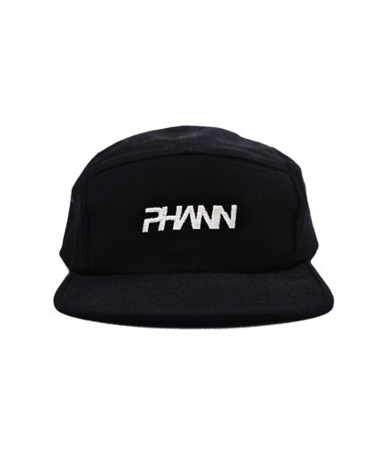 Phann 5th Panel Cap Black Designed By Phann