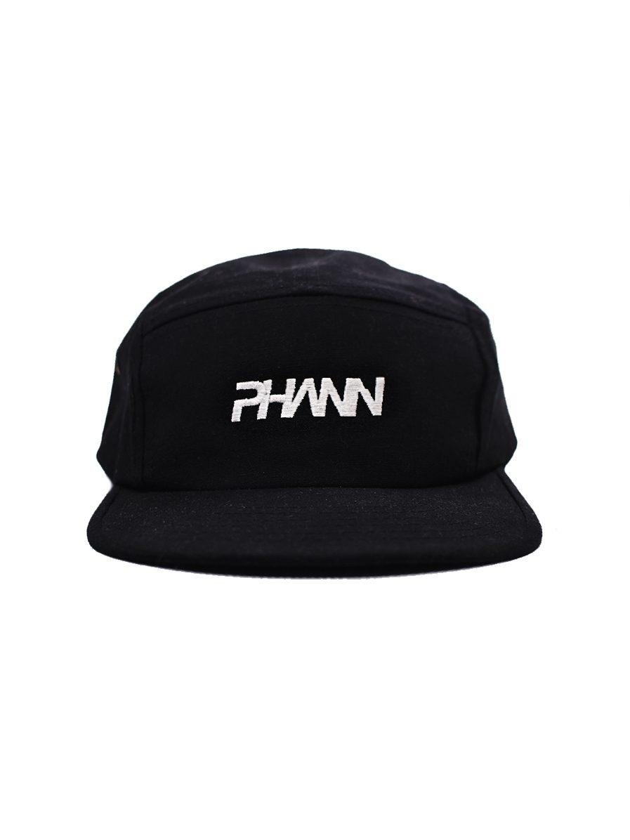 Phann 5th Panel Cap Black Designed By Phann